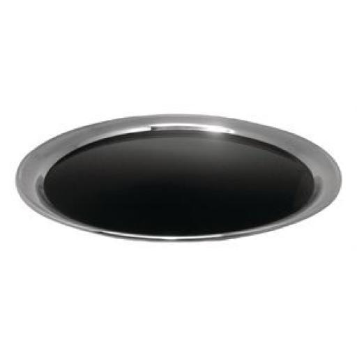 Bandeja antideslizante acero inoxidable negro mate Olympia DP207