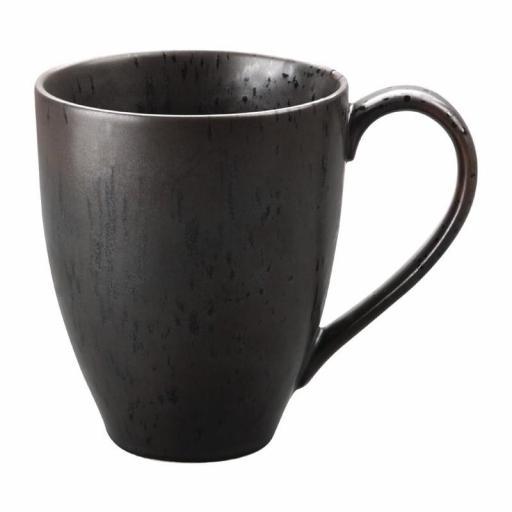 Juego de 6 tazas de porcelana Mug 340ml. Olympia Fusión DR097