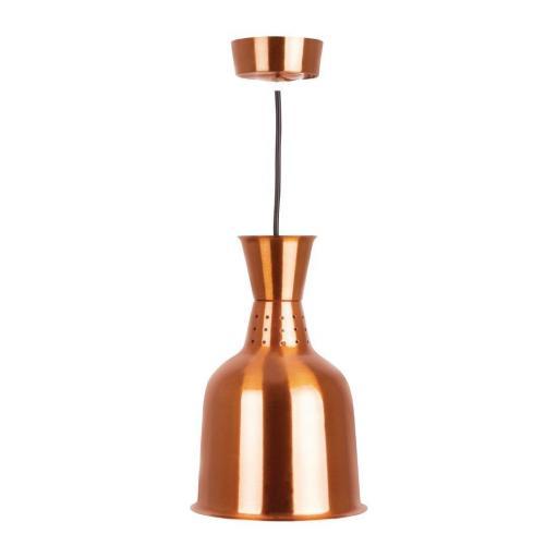 Lámpara de calor color cobre Buffalo DR755 [0]