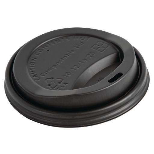 Caja de 50 tapas compostables para vasos de 340ml Fiesta Green DS055