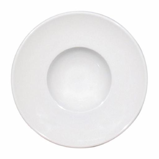 Juego de 12 platos hondos de porcelana Napoli Saturnia