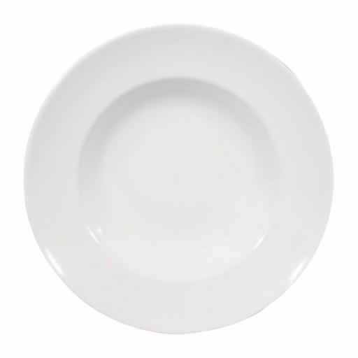 Juego de 6 platos hondos de 298(Ø)mm especial para pasta Saturnia Napoli DS176