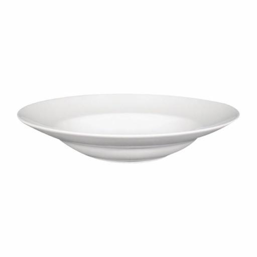 Juego de 6 platos de porcelana para pasta 300(Ø)mm Saturnia Napoli DS176