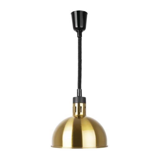 Lámpara calefactora extensible color oro Buffalo DY462