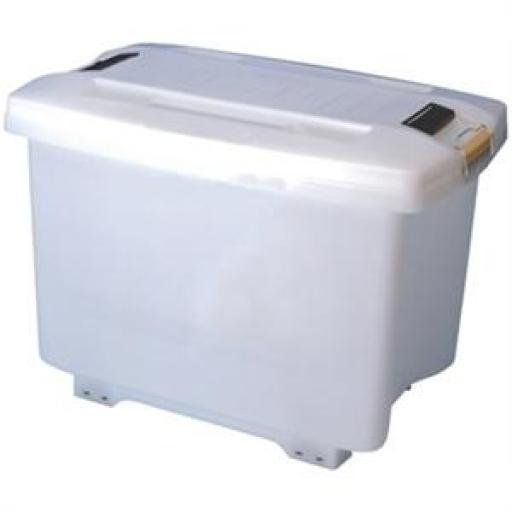 Contenedor con ruedas para ingredientes 70L. Araven E690