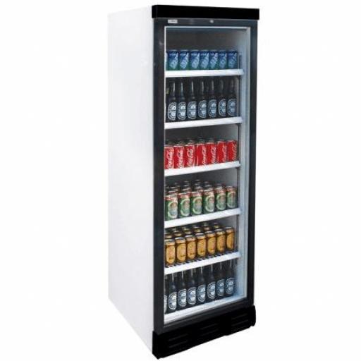 Expositor refrigerado con puerta de vidrio y 380L Edenox APE451-C