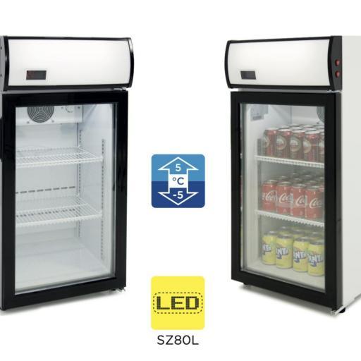 Expositor refrigerado Subcero 80 litros Pekin SZ80L