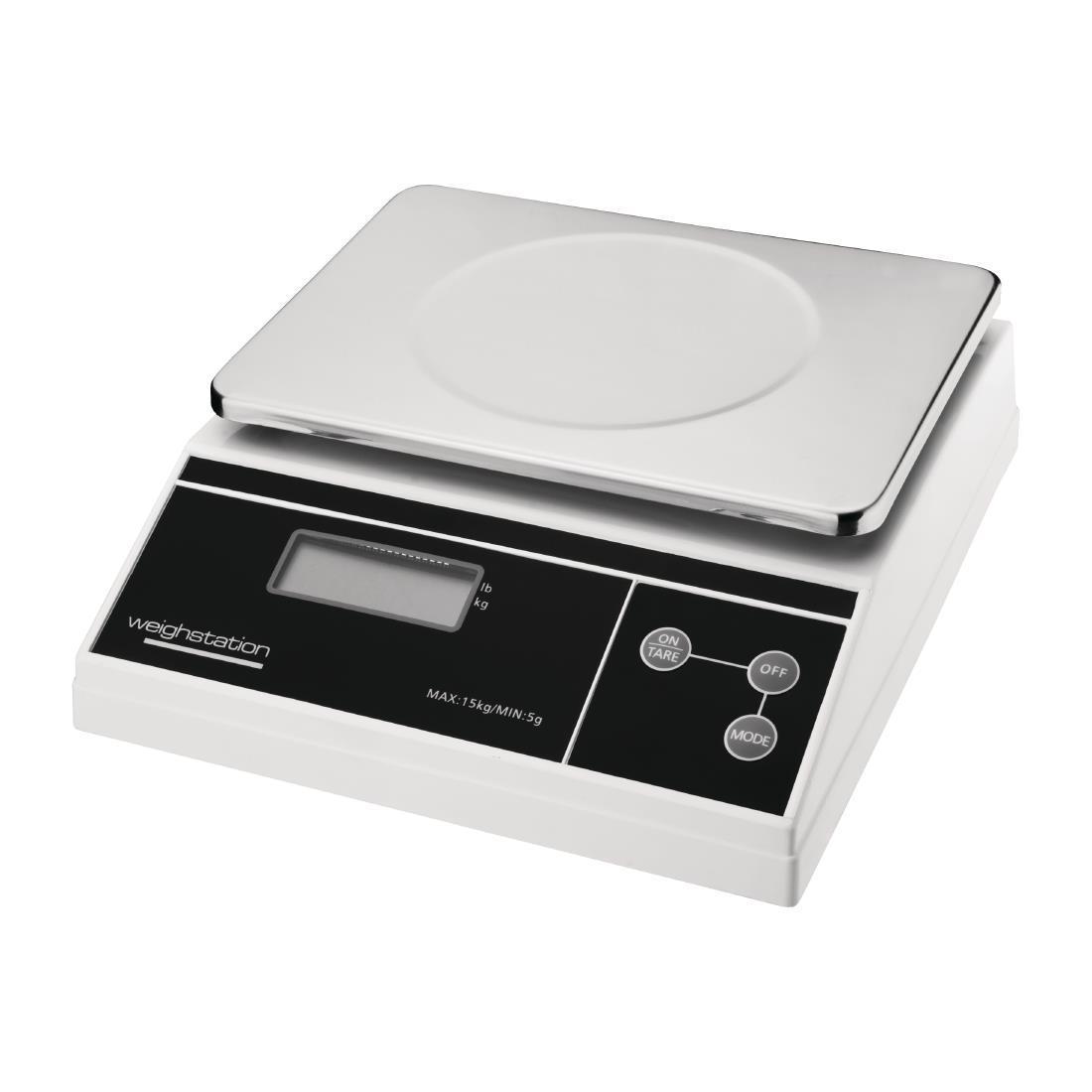 Balanza de cocina de plataforma electrónica 15Kg Weighstation F178