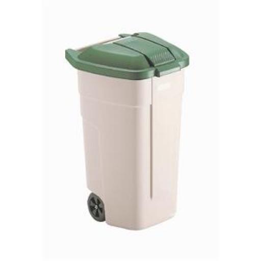 Cubo para residuos con ruedas Rubbermaid  [2]