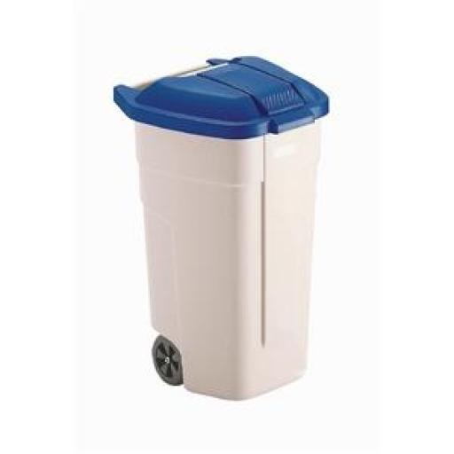 Cubo para residuos con ruedas Rubbermaid  [1]