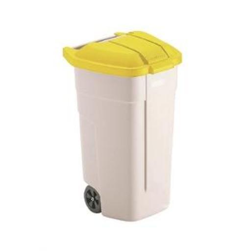Cubo para residuos con ruedas Rubbermaid