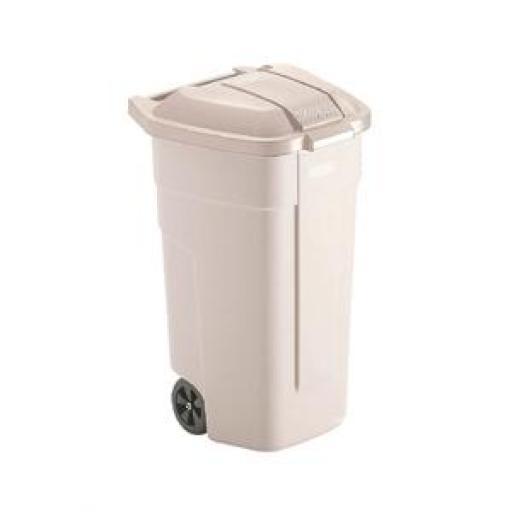 Cubo para residuos con ruedas Rubbermaid  [3]