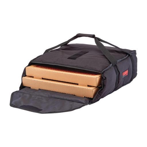 Bolsa de nylon y vinilo para reparto de pizzas pequeña Cambro GoBag FB276 [0]