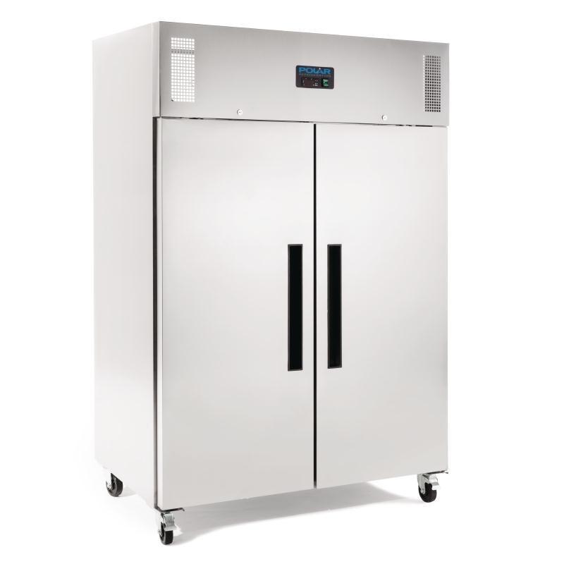Congelador Gastronorm doble puerta acero inoxidable 1200L. Polar G595