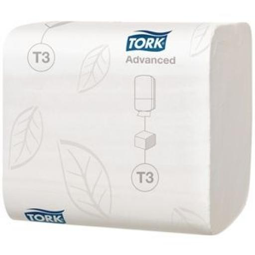 Dispensador de papel higiénico en hojas Tork Y037 [1]