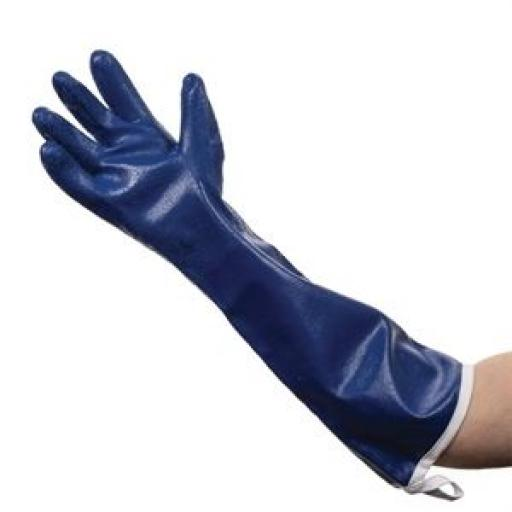 Par de guantes horno para vapor Steamguard azul Burnguard GD336 [0]