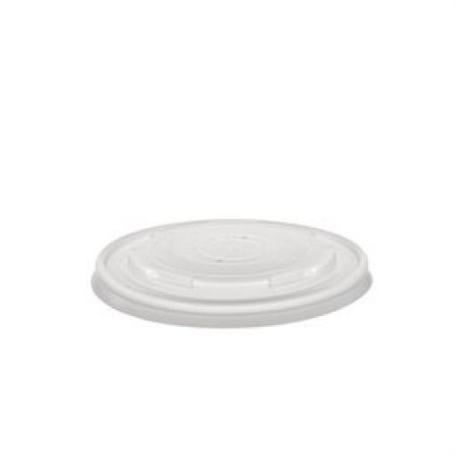 Tapas biodegradables para contenedores GF046 y GF047 (Caja de 500) Vegware GF048
