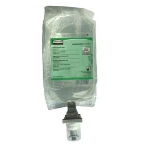 Recarga de jabón en espuma antibacteriano Rubbermaid 1.100ml. (Caja de 4) GF283