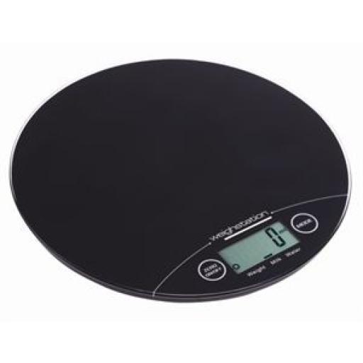 Báscula electrónica redonda 5Kg. Weighstation GG017 [1]