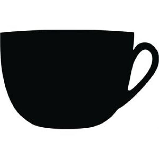 Pizarra Securit Taza de café GG114