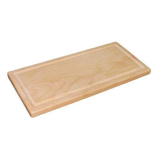 Tabla de corte para trinchar de madera Olympia GG349