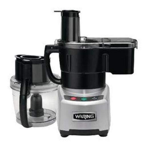 Máquina corta verduras multirobot Waring 3,8L. con alimentador continuo GG561