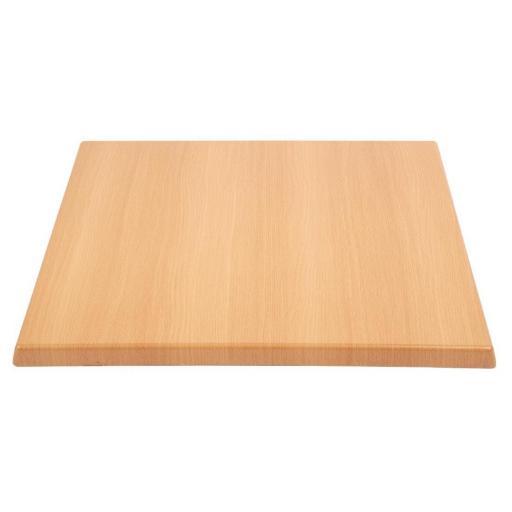 Tablero de mesa cuadrado 70x70cm Bolero