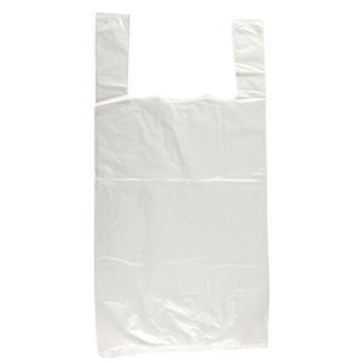 Bolsas de plástico blancas (Caja de 1.000) GG995