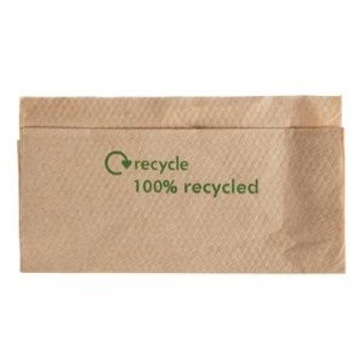 Servilletas recicladas Kraft 1 capa 320x300mm. (Caja de 6.000) GH030 [1]