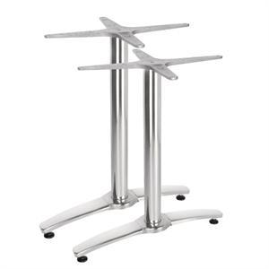 Juego de 2 pies de mesa de aluminio Bolero GH985