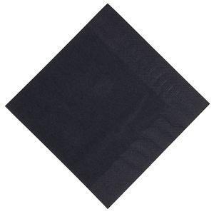 Servilleta tissue 3 capas negra Duni Dinner 400mm. (Caja de 1.000) GJ113