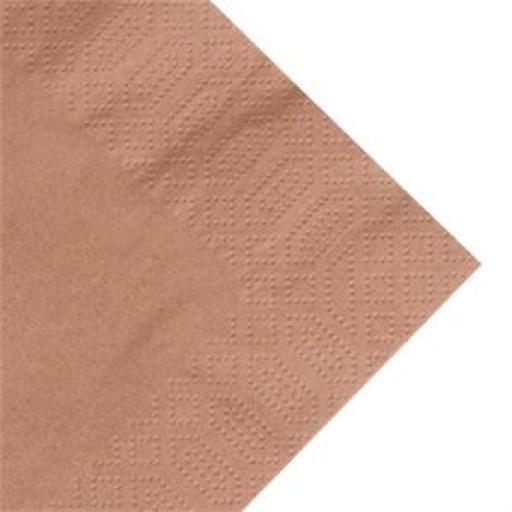 Servilleta tissue 3 capas Duni Dinner 400mm. (Caja de 1.000) [1]