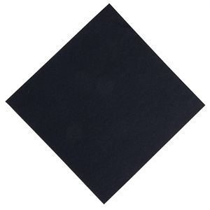 "Servilleta ""tejido no tejido"" negra Duni Dunisoft 400mm. (Caja de 720) GJ120"