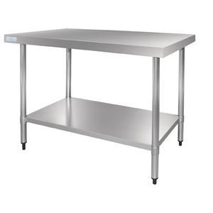 Mesa de acero inoxidable Vogue de 1200mm x 700mm x 900mm GJ502