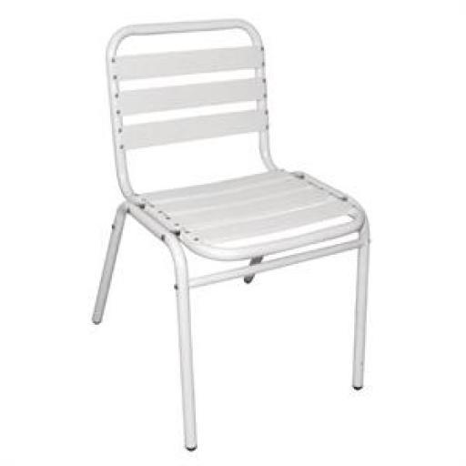 Juego de 4 sillas de aluminio Bolero [3]