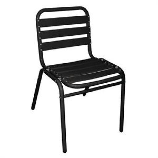 Juego de 4 sillas de aluminio Bolero [2]