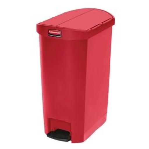 Cubo con pedal lateral 70L. Rubbermaid