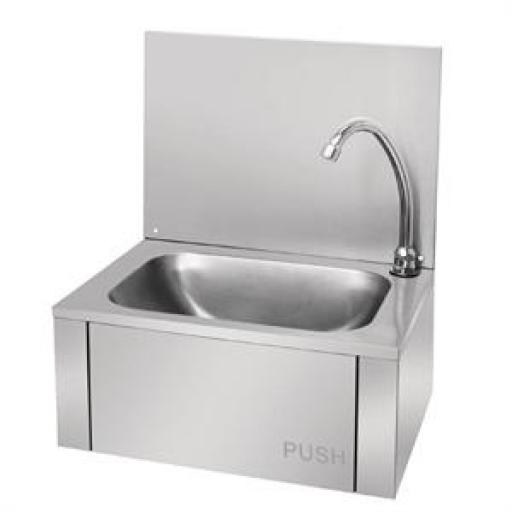 Lavabo acero inoxidable manos libres Vogue GL280
