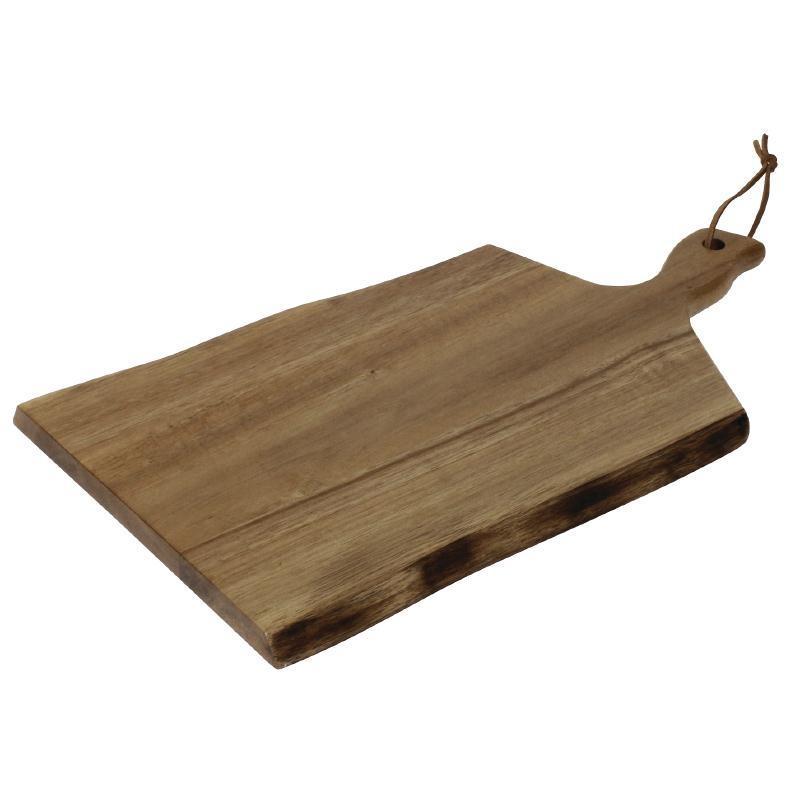 Tabla de madera de acacia borde ondulado Olympia Wavy