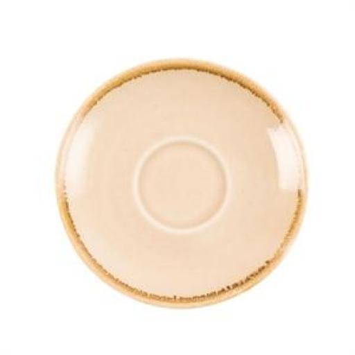 Juego de 6 platos de 115mm. para taza de cafe 85ml. Olympia Kiln  [1]
