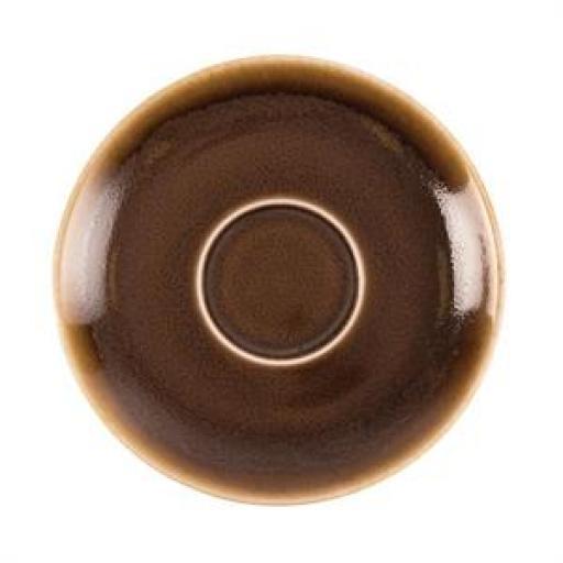 Juego de 6 platos de 140mm. para taza de cafe 230ml. Olympia Kiln  [2]
