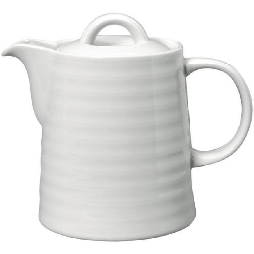 Cafetera de porcelana blanca Intenzzo [1]