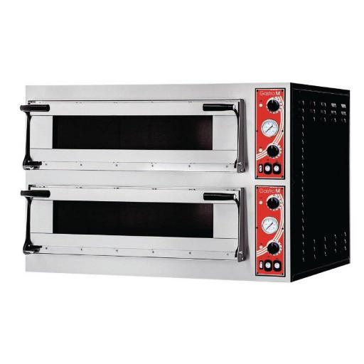 Horno eléctrico 4+4 pizza de 2 cámaras Gastro M Modelo Roma GR216