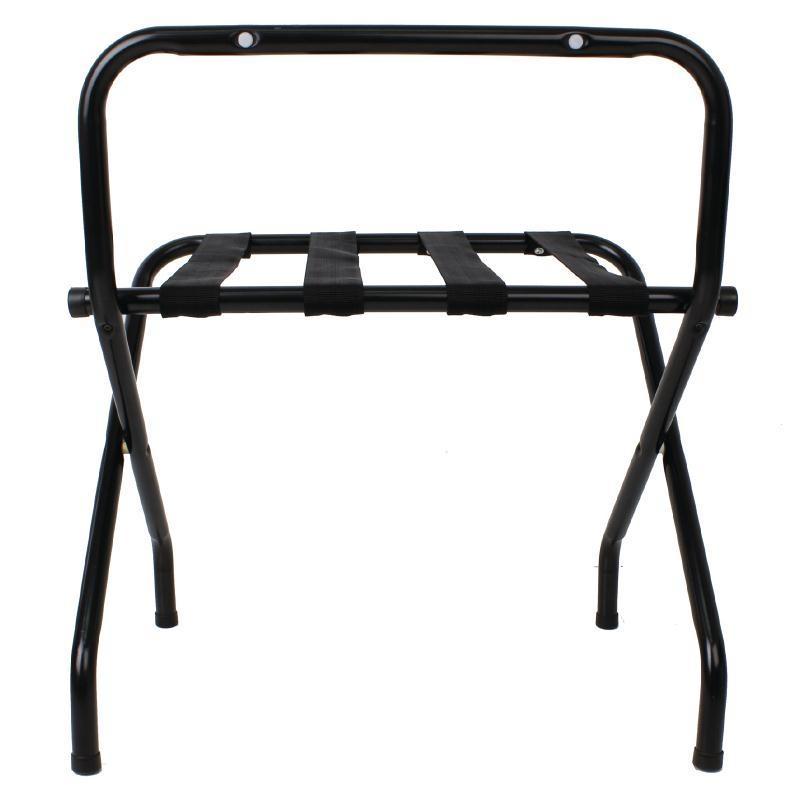 Soporte plegable para maletas negro Bolero GR397