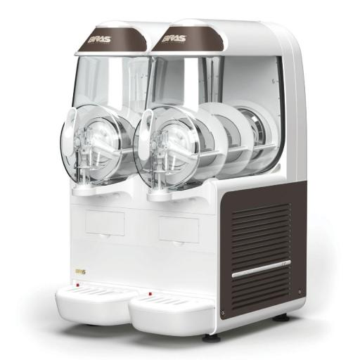Granizadora con 2 depósitos de 10L+10L. B-Frozen 2 Smart Bras
