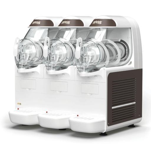 Granizadora con 3 depósitos de 6L cada uno B-Frozen 3 Smart Bras
