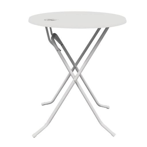 Mesa alta plegable blanca Brabant [1]