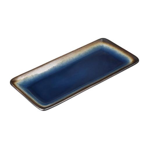Juego de 6 bandejas rectangulares 245x120mm Olympia Nomi
