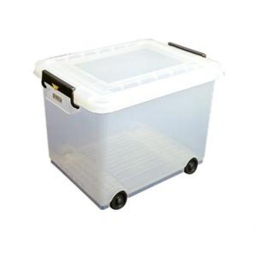 Contenedor con ruedas para ingredientes 50L. Araven J245