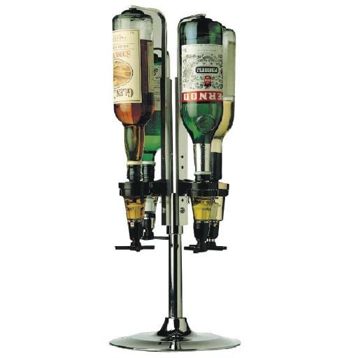 Soporte giratorio para botellas de licores